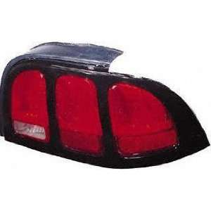 96 98 FORD MUSTANG TAIL LIGHT RH (PASSENGER SIDE), Rim Without Painted