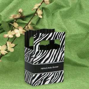 Zebra   Mini Personalized Baby Shower Favor Boxes Toys & Games