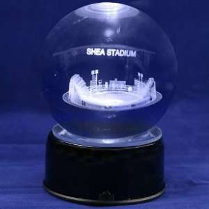 New York Mets Baseball Stadium 3D Laser Globe