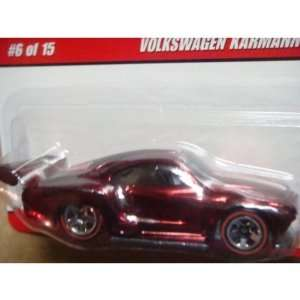 Hot Wheels Classics Series Volkswagen Karmann Ghia Red Line Scale 1/64