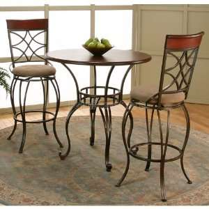 Cramco Desota Round Pub Table Set Y2110 62 64 set