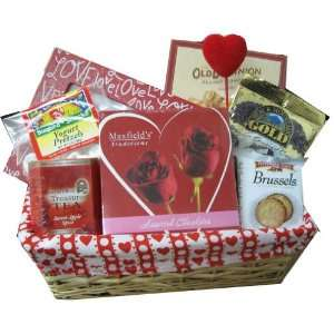 Kosherbyte Valentines Day Love Baskets  Grocery & Gourmet