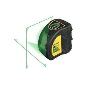 Powered Green Beam Laser Cross Level, Self Leveling