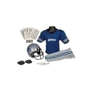 Detroit Lions NFL Youth Uniform Set