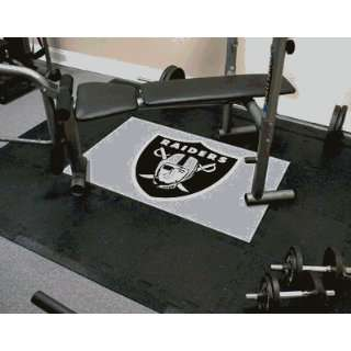 Oakland Raiders   NFL Licensed Active Tiles Mat