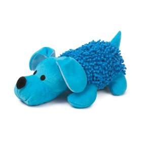 Zanies Plush Shaggy Pups Dog Toy, Large, Bluebird