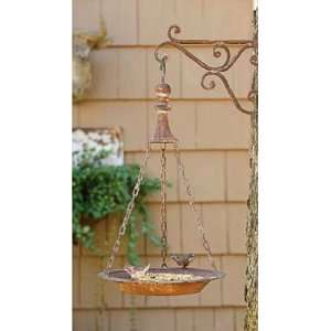 Shabby Cottage Chic Hanging Bird Feeder Home Decor