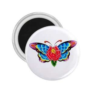 Flower Fridge Souvenir Magnet 2.25