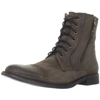 Kenneth Cole Reaction Mens Hit Men Lace Up Boot Shoes