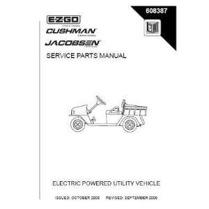 Manual for Electric ST Sport Utility Vehicle Patio, Lawn & Garden