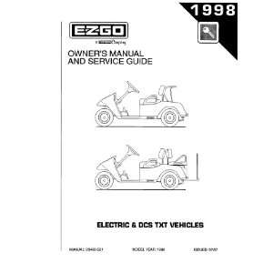Guide for TXT Electric 3 Wheel Utility Vehicle Patio, Lawn & Garden