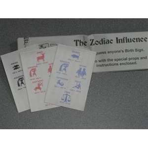 Zodiac Influence (FT)   Mental / Close Up Magic Tr Toys
