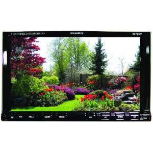 Brand X XL72DV 7 Inch Motorized Touch Screen TFT Monitor with DVD/AM