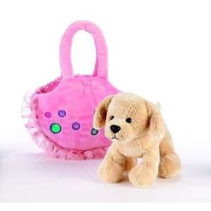 Love to Go Dotty the Golden Retriever Puppy Purse Dog Toys & Games