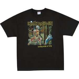 Iron Maiden T Shirt   Somewhere In Time