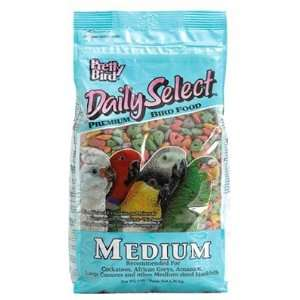 Pretty Bird Food Daily Select Parrot Food Pellets Medium 8