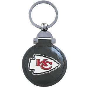 Leather Key Ring   Kansas City Chiefs