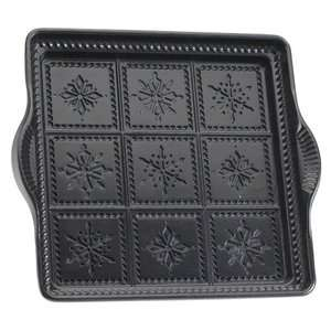 International Specialties Heavy Cast Aluminum Snowflake Shortbread Pan