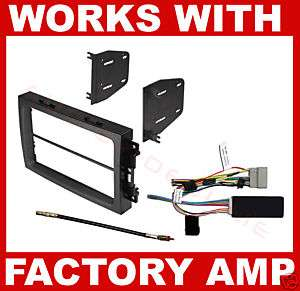 2006 2007 2008 Dodge Ram Radio Install Dash Kit Combo