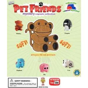 Genuine Pet Friends Collection   Complete Set of 5 Toys & Games