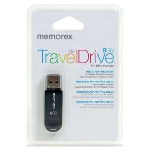 Memorex Mini TravelDrive 8GB USB Flash Drive