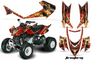 AMR GRAPHIC DECAL STICKER KIT ARCTIC CAT DVX400 DVX 300